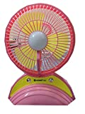 #7: JY SUPER 6880 PORTABLE TABLE FAN WITH LED LIGHT