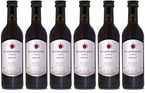EL EMPERADOR Merlot Rouge Chile rotwein (6 x 0.25 l)