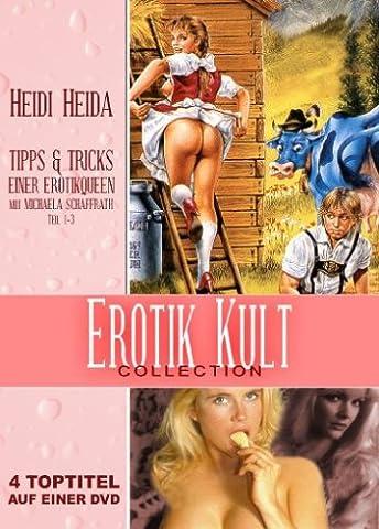 Erotik Kult Collection (Tipps und Tricks einer Erotikqueen - Teil 1-3 & Heidi Heida - Teil 1) (Heidi Heida Film)