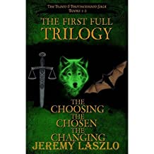 [ [ THE FIRST FULL TRILOGY: THE BLOOD AND BROTHERHOOD SAGA BOOKS 1-3 BY(LASZLO, JEREMY )](AUTHOR)[PAPERBACK]