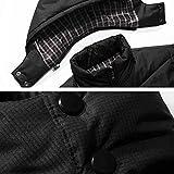 Xmiral Jacket Herren Softshell Jacke Outdoor Funktionsjacke Freizeitjacke (L,Schwarz) Vergleich