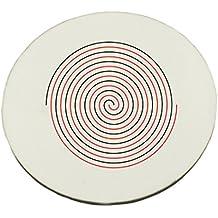 Diseño de un Doble Lineal spiral. Round alfombrilla de ratón