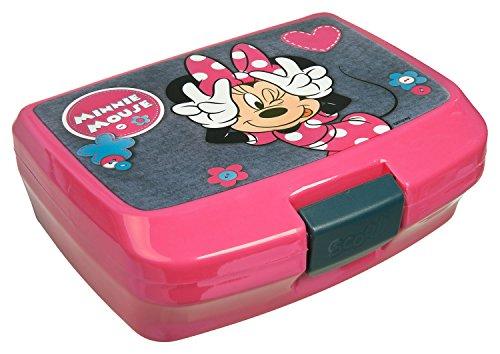 Undercover MIDS7293 Kindergartentasche, Disney Minnie Mouse, ca. 21 x 22 x 8 cm Brotzeitdose