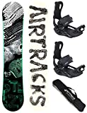 Airtracks SNOWBOARD SET - BOARD STEEZY WIDE 160 - SOFTBINDUNG MASTER L - SB BAG