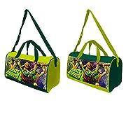 Borsone sportivo Tartarughe Ninja ideale per lo sport e per il tempo libero. La borsa è composta da: 1 Tasca grande centrale.