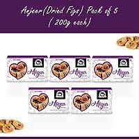 Wonderland Foods Premium Quality Anjeer (Dried Figs) 1Kg - Pack of 5 (200g Each)