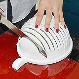 Istore Multipurpose Cutter,Strainer Bowl Salad Cutter Bowl, Salad Cutter, Vegetable Cutter, Fruit Cutter, Slicer, Nicer, Dicer, Grater, Chopper. Fruits And Vegetable Cutter Bowl