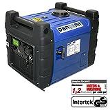 DENQBAR 3,6 kW Inverter Stromerzeuger Notstromaggregat Stromaggregat Digitaler Generator benzinbetrieben DQ3600E mit E-Start