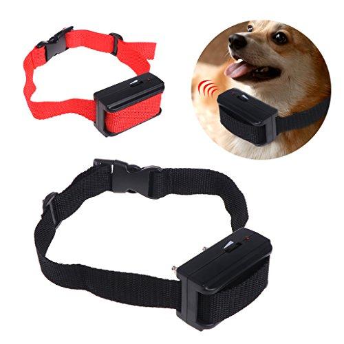 Preisvergleich Produktbild autone Pet Control Antibellhalsband,  Elektroschock Training Stop Bellen Hunde Welpen NEU,  rot