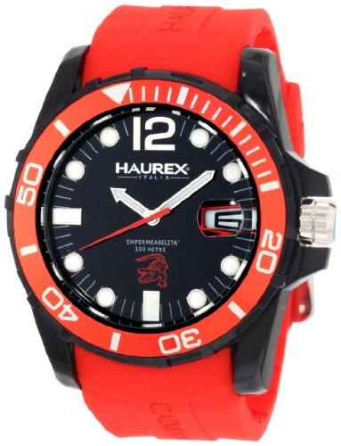 Haurex Italy Men's Watch XL Analogue Rubber N1354UNR Caimano