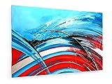 weewado Il vento mi suona una canzone - 30x20 cm - Belle stampe d'arte tela textile - arte della parete - Astratto