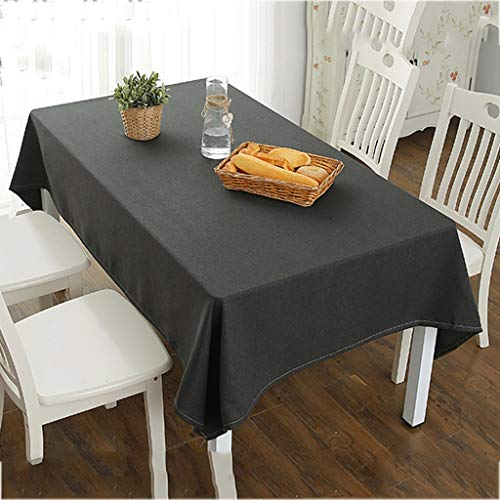 Seven stars Einfarbige Farbe Durable Dirt Weiche Baumwolle Leinen Tisch Einfache Moderne Rechteckige...