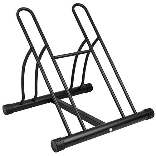PrimeMatik - Fahrradständer Bodenparker für 2 Fahrräde Mehrfachständer