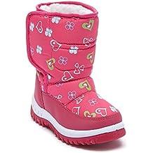 LJ-Adorababt - Botas de nieve niña para chico chica para niño Unisex, para niños