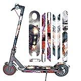 Maayun para Xiaomi Mijia M365 Scooter eléctrico Todo el Cuerpo Pegatinas Cinta Paster Antideslizante (B)