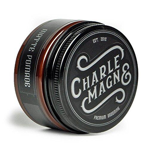Charlemagne Premium Matte Pomade - Starker Halt
