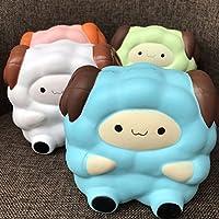 Blanketswarm 1 Pc Squishy squeeze lente hausse Réducteur Stress mignon doux animal Pain Jouet