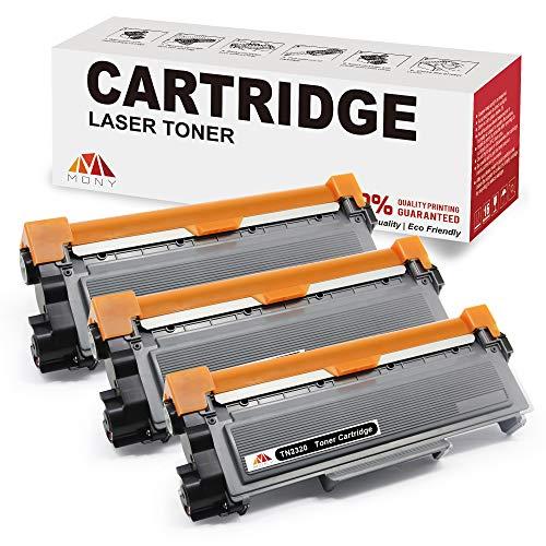 Mony Compatibile TN2320 TN-2320 Cartuccia del Toner (3 Nero) per Brother MFC-L2700dw MFC-L2700dn MFC-L2740dw MFC-L2720dw DCP-L2500d DCP-L2540dn HL-L2340dw HL-L2365dw Stampante Multifunzione Laser