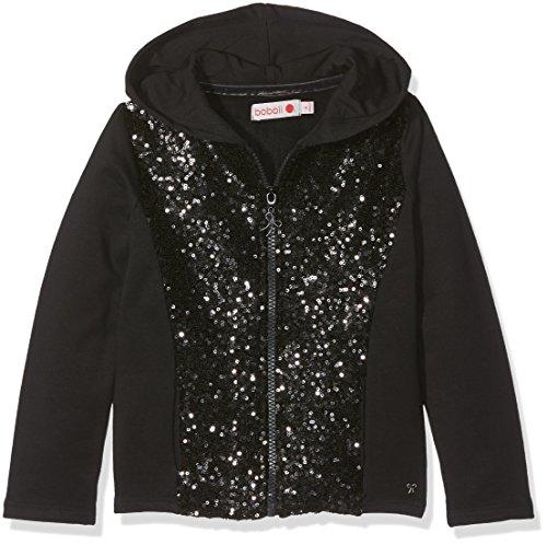 Boboli Mädchen Fleece Jacket Stretch for Girl Kapuzenpullover, Grau (Ash 8080), 116 -