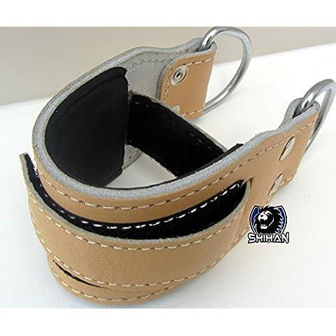 INFINITY in pelle naturale/palestra cinturino alla caviglia
