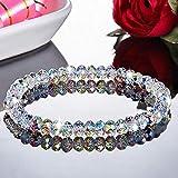 Coloré Ab Cristal Perles Bracelets pour Femmes Doux Tempérament Travail Manuel Bracelets &...