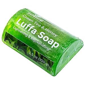 Esponja de jabón exfoliante corporal Jabón de limpiar manchas oscuras suciedad incrustada de cuerpo Lightening para la…