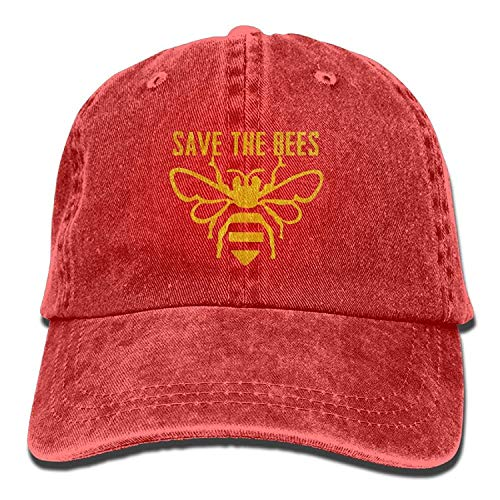 Preisvergleich Produktbild Unisex Save The Bees Performance Dad Cap Adjustable Hat for Outdoor Baseball Cap