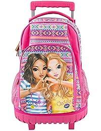 Depesche - Bolsa escolar rosa multicolor