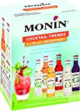 MONIN Mini Cocktail Set 6 x 50 ml Box mit Rezeptheft