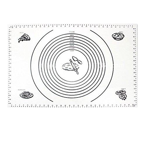 Baoblaze Forro de Bandeja para Hornear Complimentos para Cocina Comida para Hornear   60x40cm