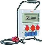 Brennenstuhl Tragbarer Stromverteiler BSV 4/32 FS IP44 Baustelleneinsatz und Outdoor, 1154900