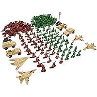 210pcs Juguete Militar Ejército de Modelo Figura de Acción Soldados con Vehículo - Aviones
