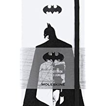 Moleskine Batman Notebook: White, Pocket, Ruled