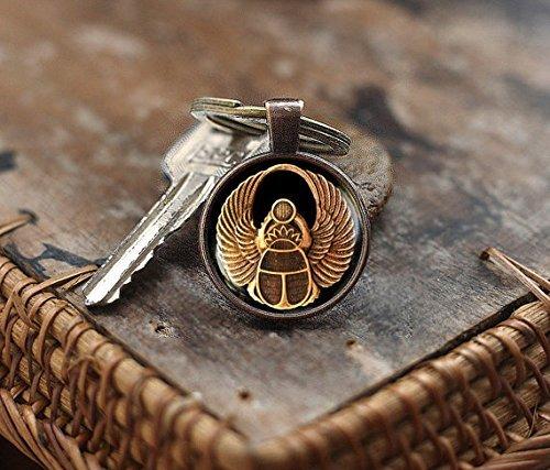 us Schlüsselanhänger, Skarabäus Schlüsselanhänger, Alten Ägypten Schlüsselanhänger, ägyptische Schlüsselanhänger, Herren Schlüsselanhänger ()