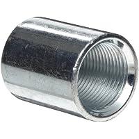 Amboss Stahl Rohrverschraubungen Finish NPT Stecker X NPT Buchse 1 Klasse 150 1//2 x 1//8 schwarz schwarz Hex Buchse