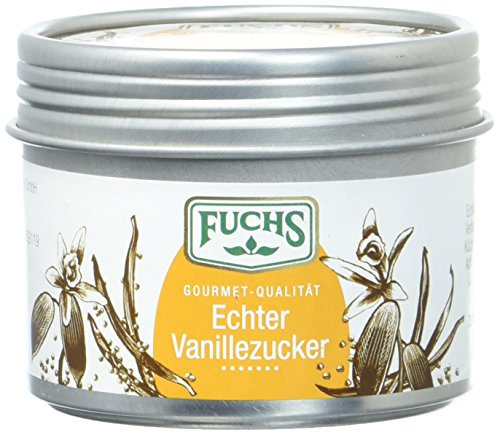 Fuchs Echter Vanillezucker, 2er Pack (2 x 65 g)