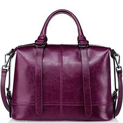 62228dc909a38 Damen Handtaschen Leder Umhängetasche Mode lässig diagonal Tasche 2 ...