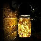 Lámpara de Decoración Solar para Jardín, Luz Solar, 20 LED, Lámpara de Ahorro de Energía e Impermeable para...