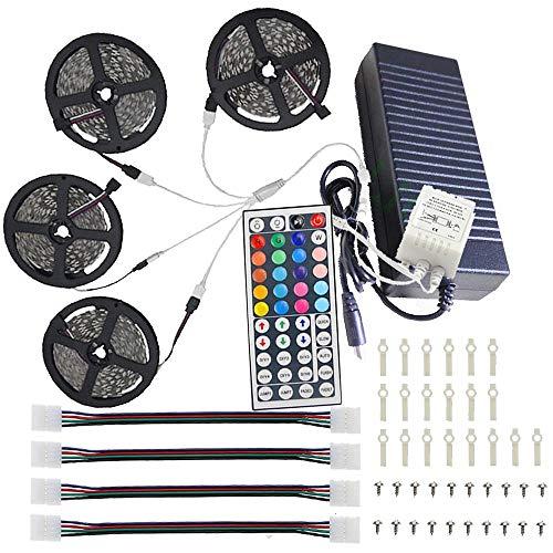 ht LED Streifen Strip 600 LEDs 5050 SMD 100-240V IP44 für Decke Bar Counter Cabinet Weihnachten Party Feiertag Hochzeitsdekoration (4 * 5m) ()