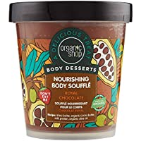 Organic Shop Soufflé Corporal Nutritivo Chocolate Real - 450 ml