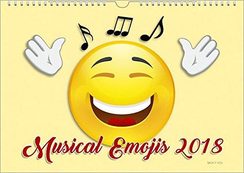 Emojis-Musik-Kalender-2018-DIN-A3-Musical-Emojis