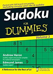 Sudoku For Dummies:Volume 3
