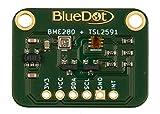 BlueDot BME280 + TSL2591 Sensores para Arduino: Luz, Temperatura, humedad, y aire Impresión