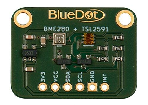 BlueDot BME280 + TSL2591 Sensoren für Arduino: Licht, Temperatur, Feuchte, und Luftdruck -