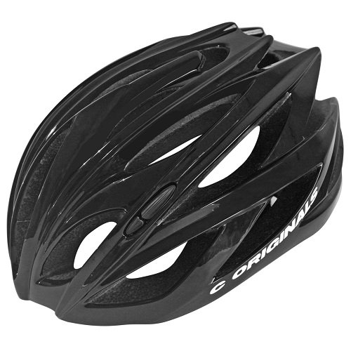 C ORIGINALS Road Series Fahrradhelm CE 10X Colors (C380 Gloss Black) -