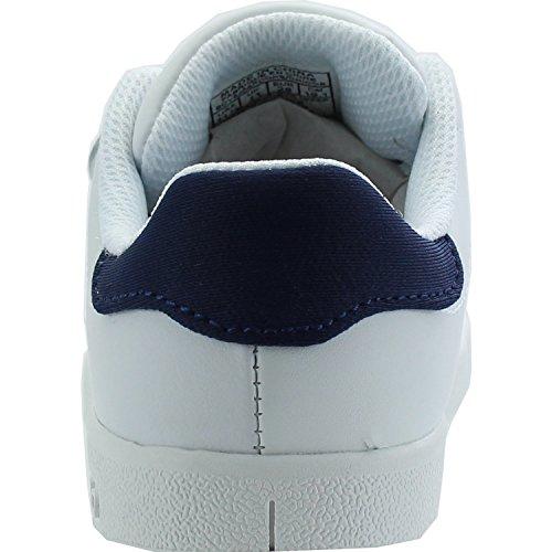 Polo Ralph Lauren Bilton Ez C White Leather Junior Trainers White