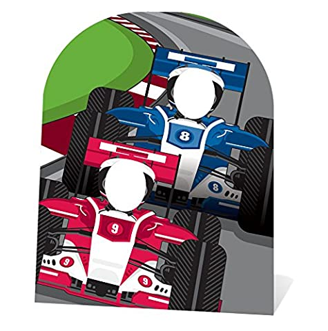 Star Cutouts Ltd Child Sized Racing Car Stand-in