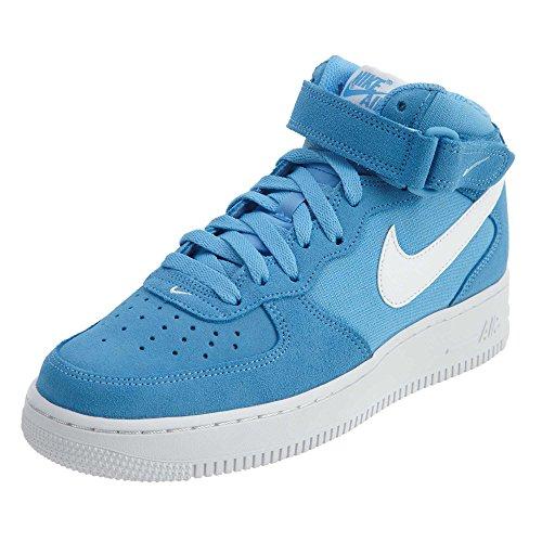 '07 - Basketaballschuhe, Herren, Farbe Blau (University Blaue/White-White), Größe 39 ()