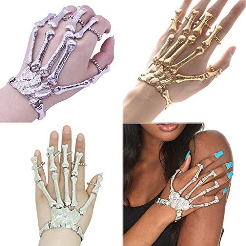 Feytuo Handschuhe Damen/Herren Halloween-Maskerade Entbeint Party Dekorative Requisiten