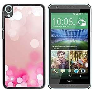 Be Good Phone Accessory // Hartschalen Handyhülle Schutzhülle Schutz Etui Hülle für HTC Desire 820 // White Water Pearl Ice Reflection